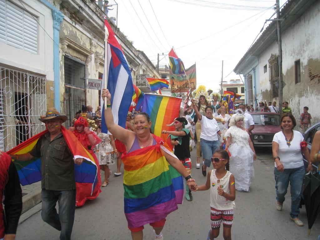 Conga Santa Clara Cuba May 2014 Frank van Dalen PrideUnited