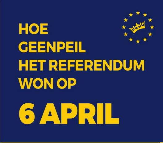 Hoe GeenPeil het referendum won