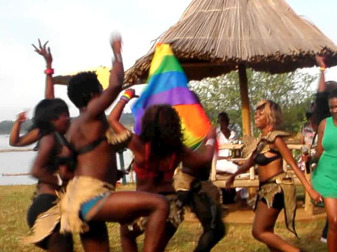 Fierté en Ouganda (google traduit)